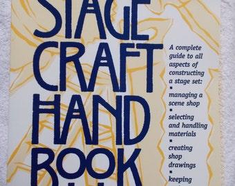 Vintage The Stagecraft Handbook Daniel A Ionazzi