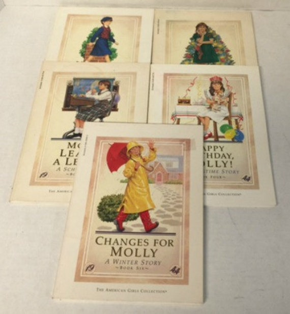 American Girl Books Molly Series Bundle 5 Books By