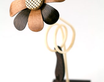 Wooden Flower - Randi #0018