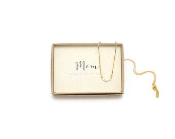 MOM || Mom Morse Necklace, Gift For Mom, Mom Birthday Gift, Mom Necklace, Mom Gifts, Mom To Be, Mommy To Be, Mom Jewelry, Mother Necklace