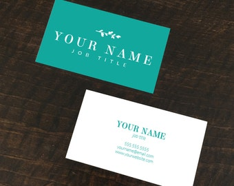 Personalized Printed Business Cards (Set of 500)