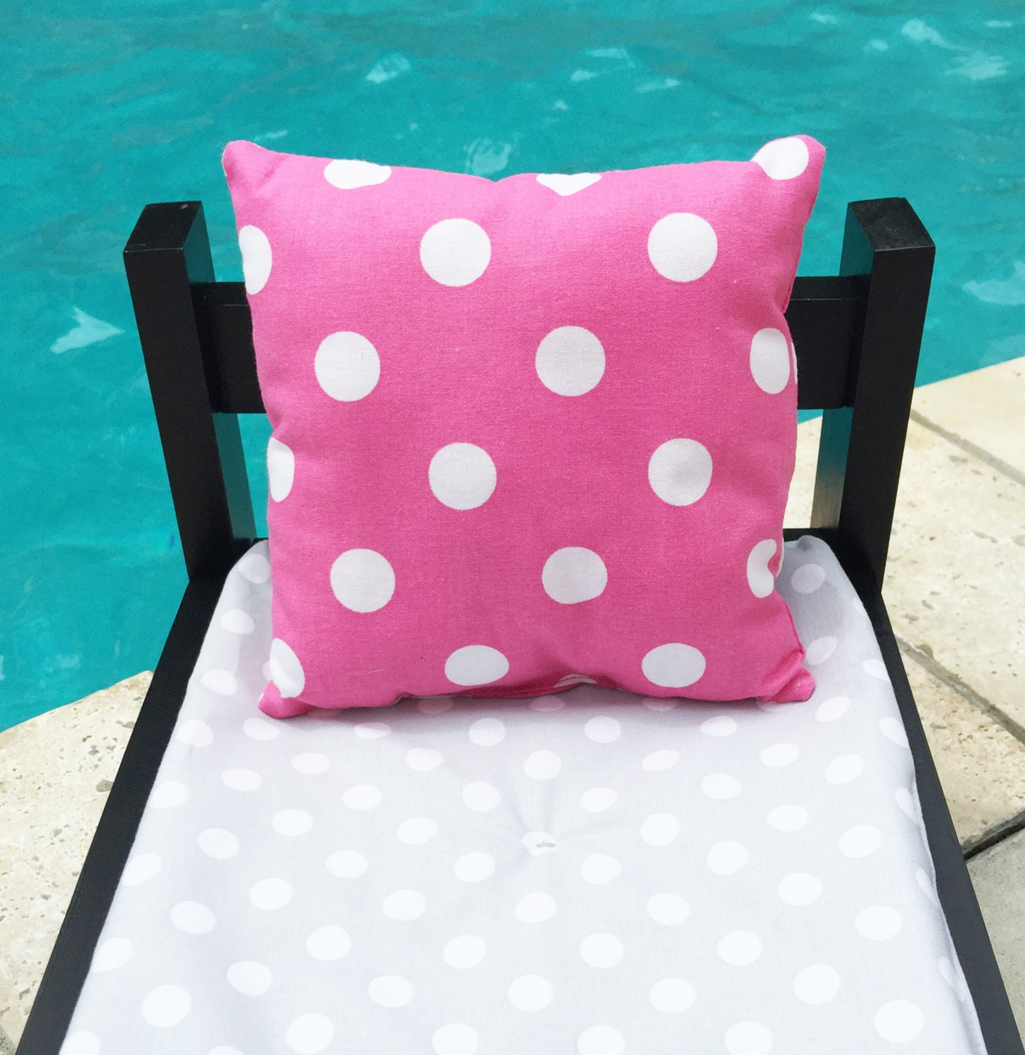 How To Make A Doll Decorative Pillow : Doll Pillows 18 Inch Doll Pillows Doll Throw Pills Pink