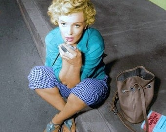 Marilyn Monroe - Marilyn in a photograph from the 1950's . # 8