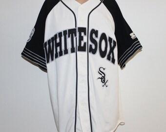 Vintage Chicago White Sox STARTER MLB Jersey L