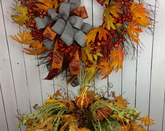 Fall Centerpiece,Thanksgiving Centerpiece,fall center piece, Fall center piece, Fall table arrangement, Table centerpice for Thanksgiving