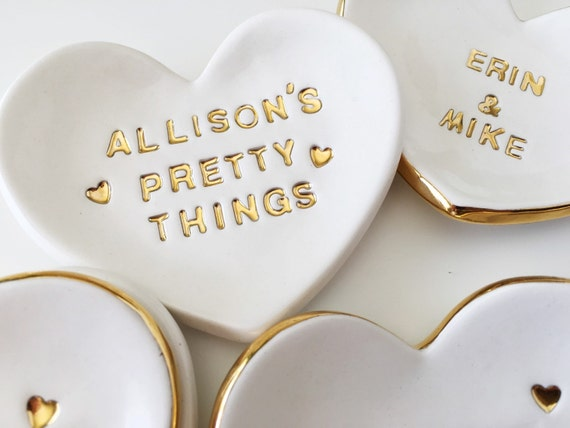pretty things custom ring dish