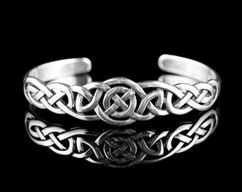 Celtic Knot Cuff Bracelet