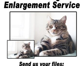 Photo Enlargement Service Resize Your Image