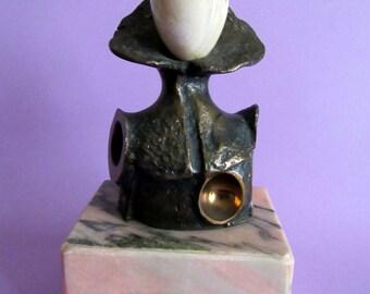 Eduardo Alcoy Bronze statue.