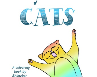Colour Your Cats - A cat colouring book