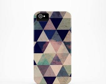 Ready to Ship - iPhone 5 case Geometric iPhone 5s case Geometric iPhone 4 case Colorful iPhone 4s case triangle iphone case, ombre
