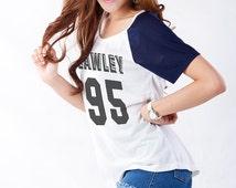 Kian Lawley TShirt Tumblr Inspired Fashion T Shirt Hipster Graphic Tee Teen Grunge Clothing Womens Tops Tees Raglan Shirt Youtube Cool Gifts