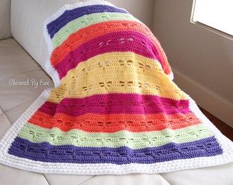 Dragonfly Baby Blanket Crochet Pattern