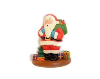 CLEARANCE  Cast Iron Santa Doorstop
