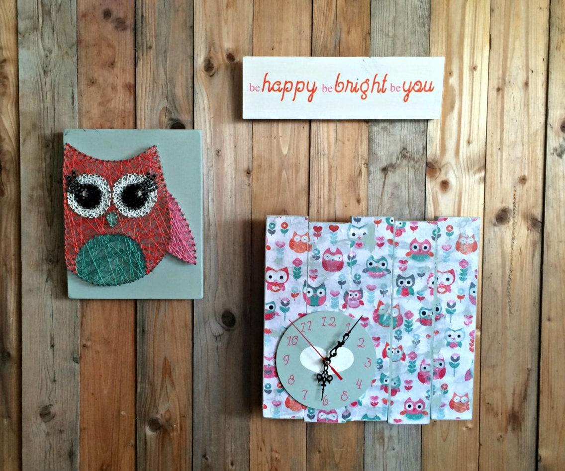 owl girls room decor owl nursery cute owls woodland