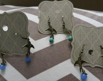 Sparrow Bird Earrings