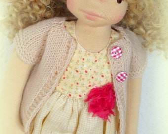 Waldorf doll clothes for 16,17 inch  doll