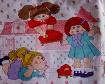 Cabbage Patch Sheet Twin Flat Cabbage Patch Dolls