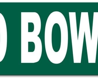 David Bowie Metal Street Sign 6x24