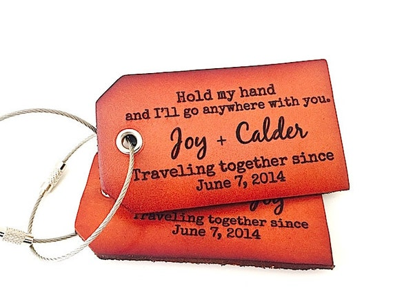 Leather luggage tags wedding favor luggage tags in bulk for Wedding favor luggage tags