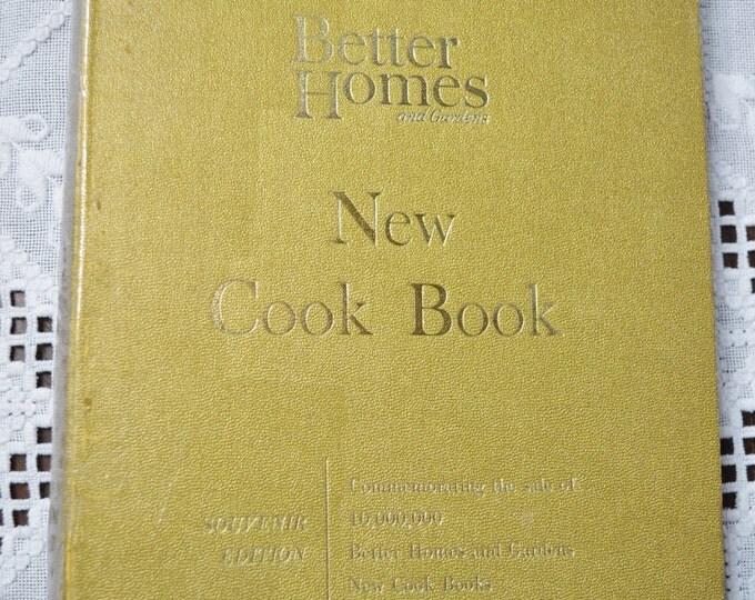 Better Homes Cookbook 1965 Hardback 3 Ring Vintage Used Book Craft Supplies Vintage Decor PanchosPorch