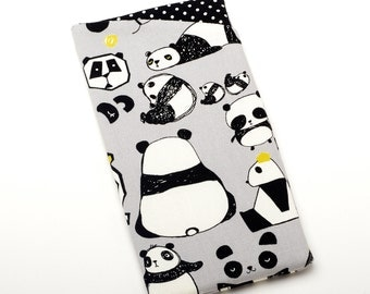 Limited Edition! - Panda Gifts, Glasses Holder, Sunglasses Case - Cute Accessories - Black and White Panda