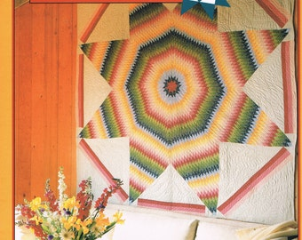 QUILT PATTERN - Star Of Bethlehem Quilt by Laura Nownes -  Star Quilt Pattern - Not A PDF - The Classic Quilt Series #4