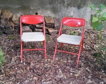 Samsonite Folding Chair Pair Childrens' Folding Chairs