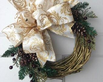 Winter Wreath, Wreath For Winter, Winter Wreath For Door, Front Door Winter, Wreath, Winter Door Wreath, Christmas Wreath, January Wreath