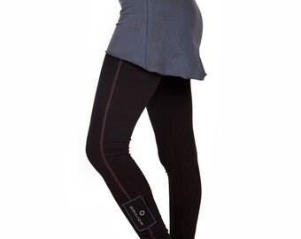 Organic Cotton Skirt, Gray Minimalist Skirt, Dance Skirt, Bodycon Skirt, Festival Mini Skirt, Stretch Skirt, Tennis Skirt, Casual Skirt