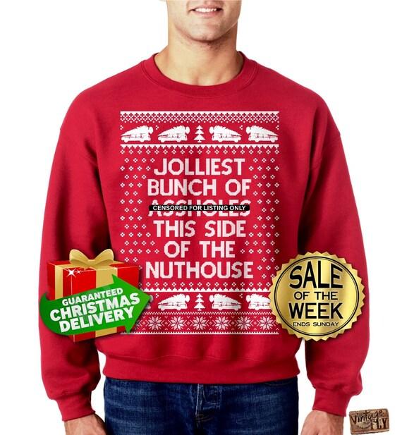jolliest bunch of christmas vacation pajamas