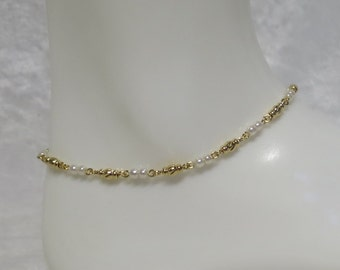 Goldplated anklet made to measure