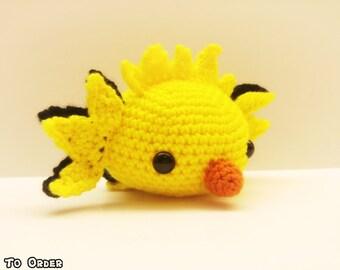 Crochet Zapdos Inspired Chibi Pokemon #Team Instinct