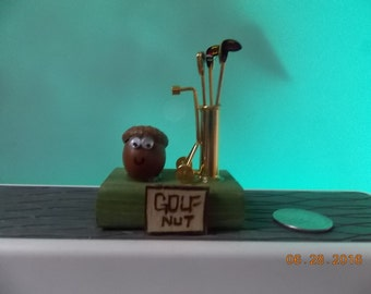 "Golf Nut-What are you ""Nuts"" about?"