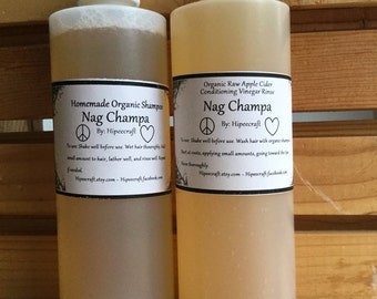 Organic Shampoo and Conditioner Homemade Shampoo and Conditioner With Vinegar Rinse