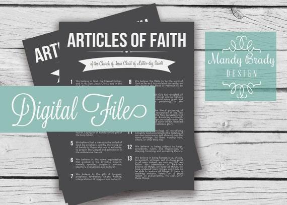 Latest home decor articles of faith