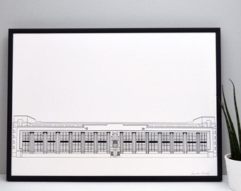 Hoover Building Print