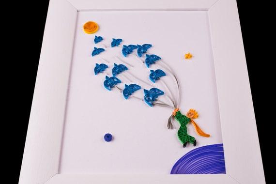 Art du papier piquants : Le Petit Prince Quilling
