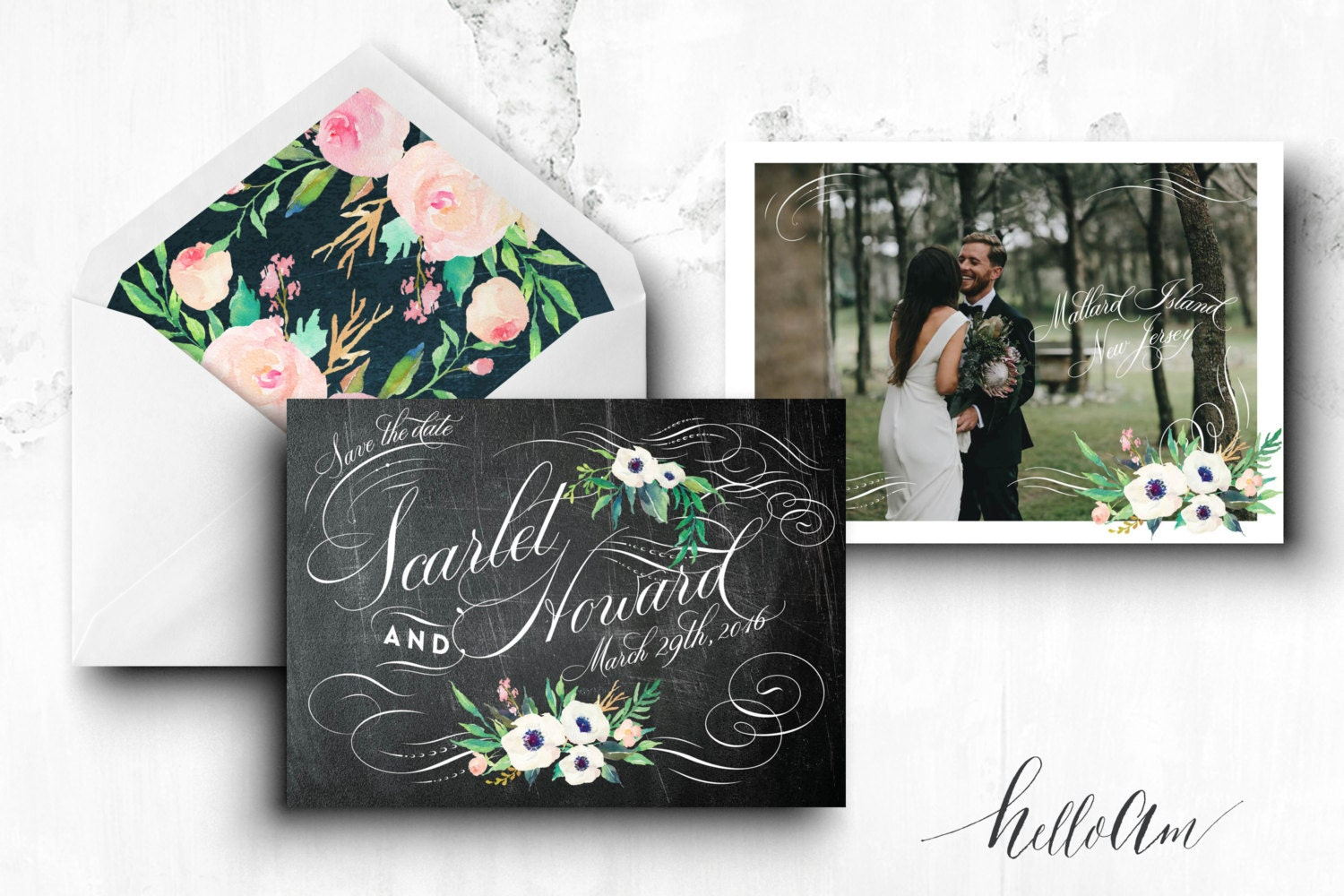 PRINTABLE Save the Date Postcard - engagement cards - save the date postcard - vintage wedding cards - rustic wedding cards - photo save