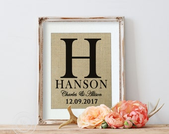 Burlap Wall Decor for House