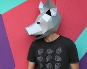 Pig mask - Make your own from recycled card for fancy dress or halloween
