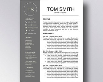 buy 1 get 1 free professional resume template cv template cover letter for word professional - Free Professional Resume Template Word