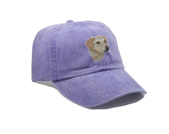 Yellow labrador embroidered hat, baseball cap, dog lover gift, pet mom cap, dog mom, gift for retriever, dad hat, dog agility, lab head