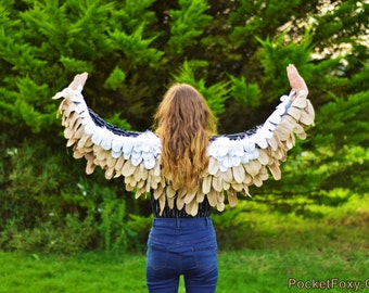 bird wings costume etsy. Black Bedroom Furniture Sets. Home Design Ideas