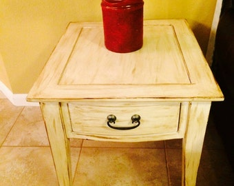 Nightstands (set of two) Vintage /Distressed