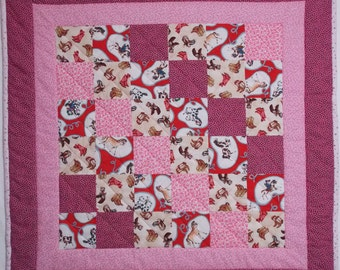 Cowgirl Modern Baby Quilt 3