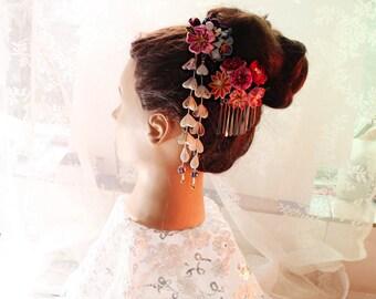 Wedding-bridal-hair accessory, bridal hair stick, bridal hair pin, wedding hair pin,, wedding Headpiece, wedding hair pins -B43