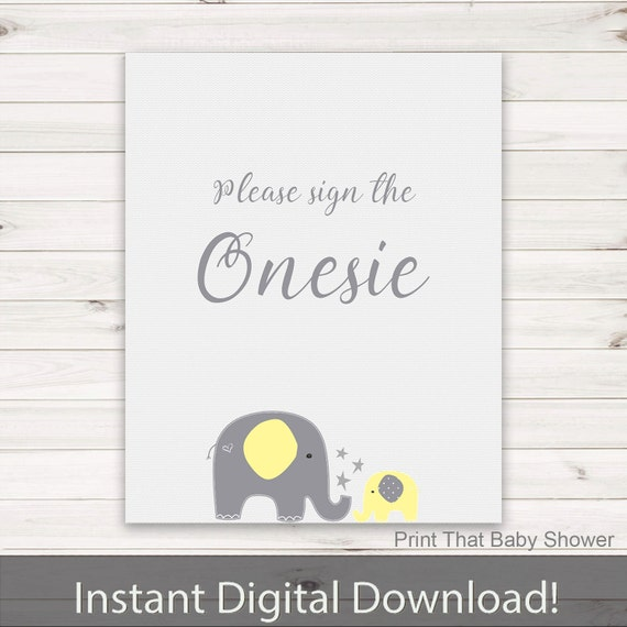 sign yellow elephant baby shower elephant baby shower sign sign
