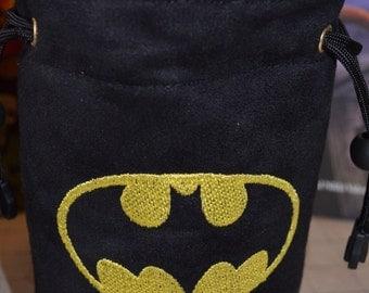 Dice Bag custom Embroidery BATMAN
