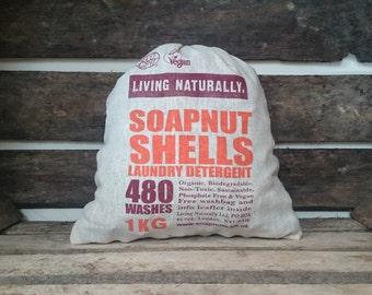 Vivre végétalien naturellement bio savon noix 1 KG